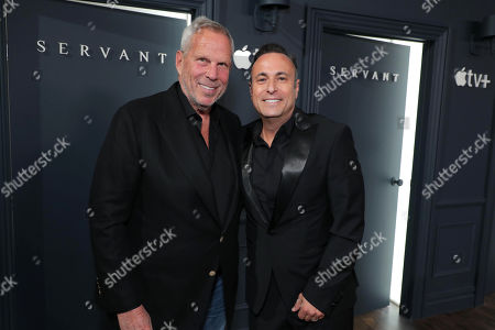 Steve Tisch, Executive Producer, and Jason Blumenthal, Executive Producer, attend 'Servant' New York Premiere at BAM Howard Gilman Opera House on November 19, 2019 in Brooklyn. 'Servant' premieres exclusively on Apple TV+ on November 28.