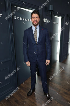 Toby Kebbell attends 'Servant' New York Premiere at BAM Howard Gilman Opera House on November 19, 2019 in Brooklyn. 'Servant' premieres exclusively on Apple TV+ on November 28.