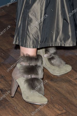 Stock Picture of Alison Elliott, Shoe detail