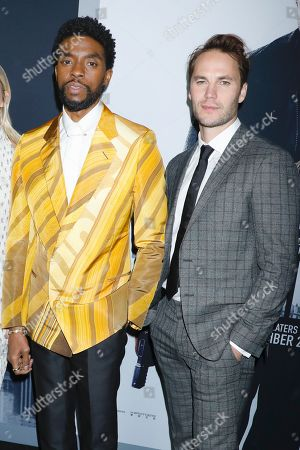 Chadwick Boseman and Taylor Kitsch