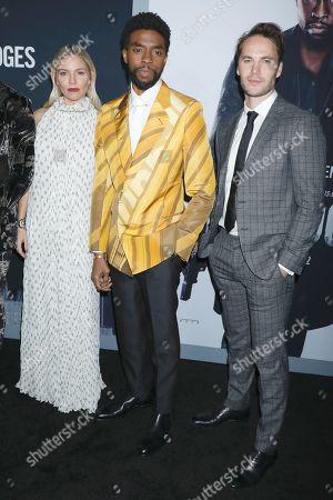 Sienna Miller, Chadwick Boseman and Taylor Kitsch