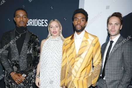 Stephan James, Sienna Miller, Chadwick Boseman and Taylor Kitsch