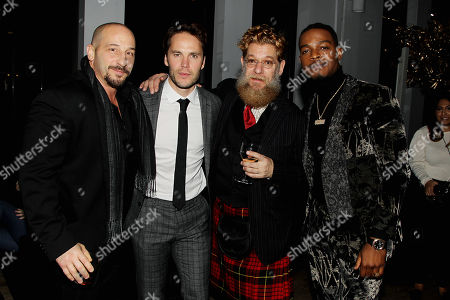Dale Pavinski, Taylor Kitsch, David Robinson, Stephen James