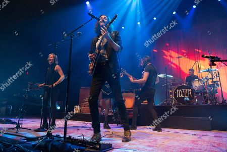 "Hozier performs in concert during his ""Wasteland, Baby! Tour"" at The Met, in Philadelphia"