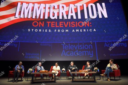 Editorial image of Immigration on Television: Stories From America, Los Angeles, USA - 19 Nov 2019