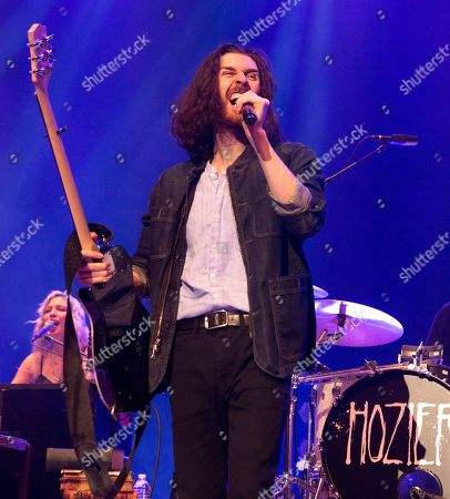 "Hozier performs in concert during his ""Wasteland, Baby! Tour,"" at The Met, in Philadelphia"