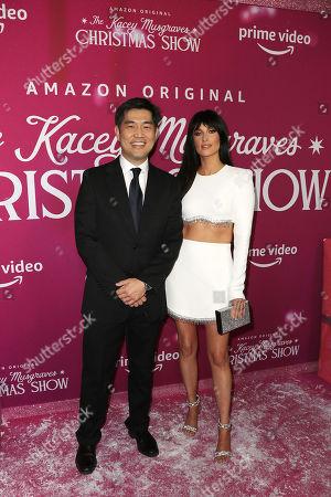 Albert Cheng (COO; Amazon Studios) and Kacey Musgraves