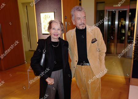 Leslie Caron and Nicky Haslam