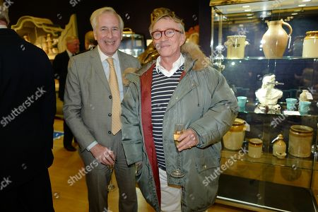 Editorial photo of Nicky Haslam:  The Contents of the Hunting Lodge viewing party, Bonhams, London, UK - 19 Nov 2019