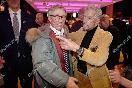 Editorial image of Nicky Haslam:  The Contents of the Hunting Lodge viewing party, Bonhams, London, UK - 19 Nov 2019