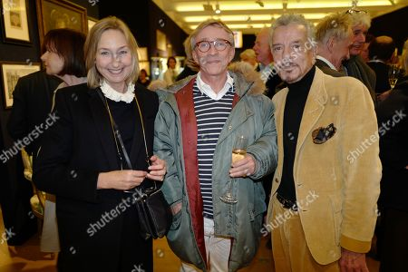 Editorial picture of Nicky Haslam:  The Contents of the Hunting Lodge viewing party, Bonhams, London, UK - 19 Nov 2019