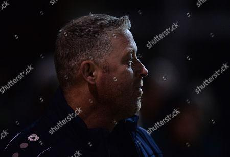 Alun Armstrong manager of Darlington