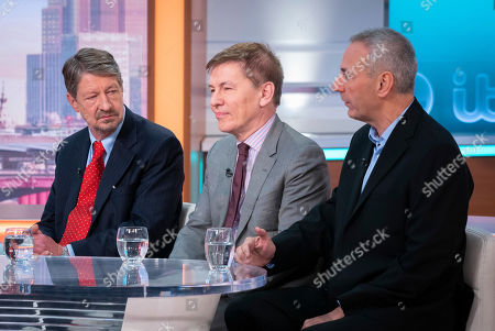 Stock Image of P. J. O'Rourke, Andrew Pierce and Kevin Maguire