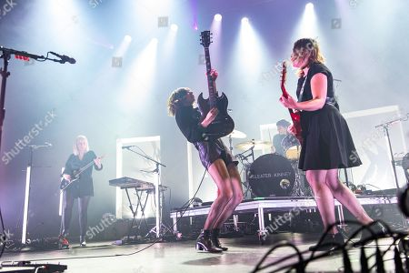 Stock Picture of Sleater-Kinney: Carrie Brownstein, Corin Tucker