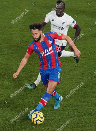 Andros Townsend of Crystal Palace