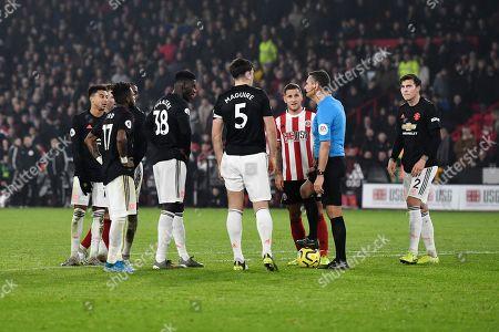 Editorial image of Sheffield United v Manchester United, Premier League, Football, Bramall Lane, Sheffield, UK - 24 Nov 2019