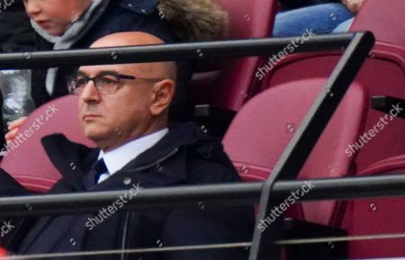 Tottenham Chairman Daniel Levy who left the match at half time