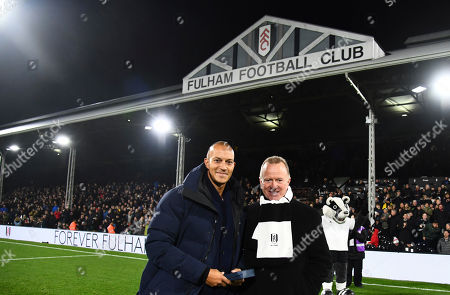 Bobby Zamora is inducted into Forever Fulham