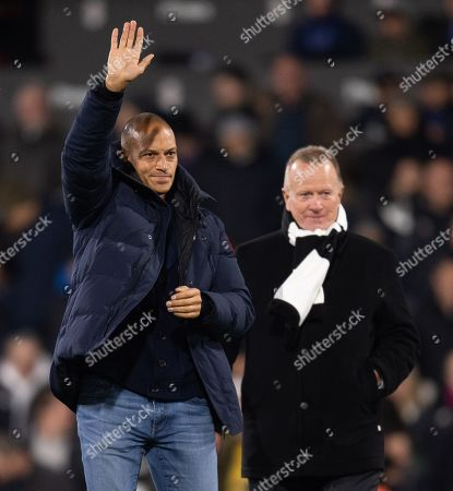 Stock Photo of Former Fulham and Queens Park Rangers player Bobby Zamora