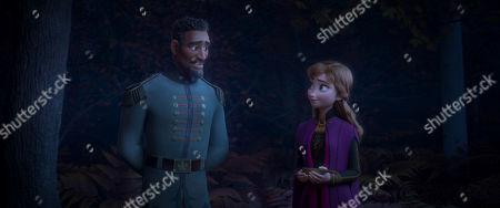 Mattias (Sterling K. Brown) and Anna (Kristen Bell)