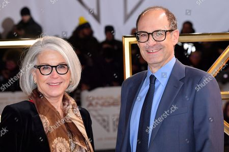 Stock Picture of Elizabeth Cantillon and Doug Belgrad attend the Charlie's Angels UK Premiere in London. Charlie's Angels releases in UK cinemas on the 29 the November.