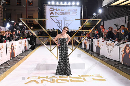 Kristen Stewart attends the Charlie's Angels UK Premiere in London. Charlie's Angels releases in UK cinemas on the 29 the November.