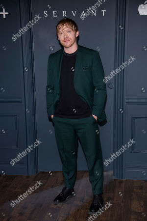 """Rupert Grint attends the Apple TV Plus world premiere of """"Servant"""" at BAM Howard Gilman Opera House, in New York. Photo by Charles Sykes/Invision/AP"""