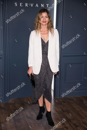 """Stock Picture of Jill Hennessy attends the Apple TV Plus world premiere of """"Servant"""" at BAM Howard Gilman Opera House, in New York. Photo by Charles Sykes/Invision/AP"""