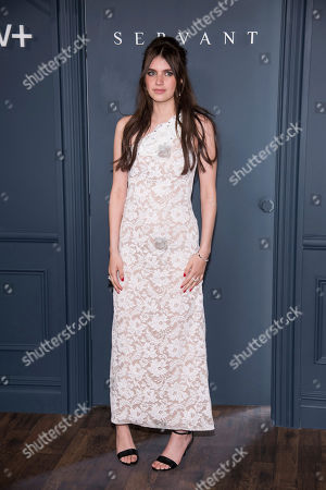 """Nell Tiger Free attends the Apple TV Plus world premiere of """"Servant"""" at BAM Howard Gilman Opera House, in New York. Photo by Charles Sykes/Invision/AP"""