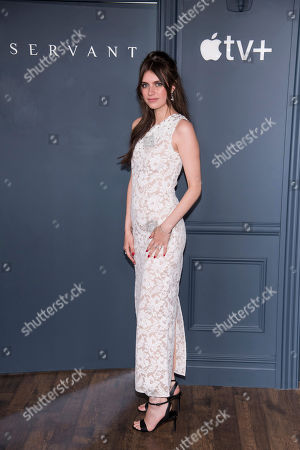 """Stock Image of Nell Tiger Free attends the Apple TV Plus world premiere of """"Servant"""" at BAM Howard Gilman Opera House, in New York. Photo by Charles Sykes/Invision/AP"""