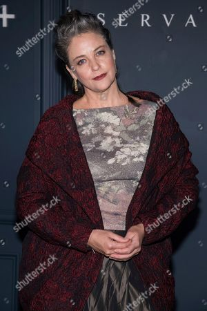 "Alison Elliott attends the Apple TV Plus world premiere of ""Servant"" at BAM Howard Gilman Opera House, in New York. Photo by Charles Sykes/Invision/AP"