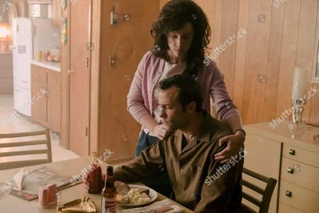 Jessie Mueller as Loretta Lynn and Kyle Schmid as Charlie Dick