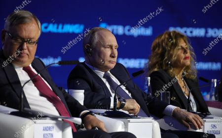 Editorial picture of VTB Capital 'Russia Calling!' Investment Forum in Moscow, Russian Federation - 20 Nov 2019