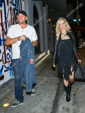 Stock Picture of Randy Couture and Mindy Robinson at Craig's Restaurant