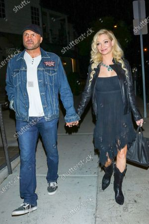 Randy Couture and Mindy Robinson at Craig's Restaurant