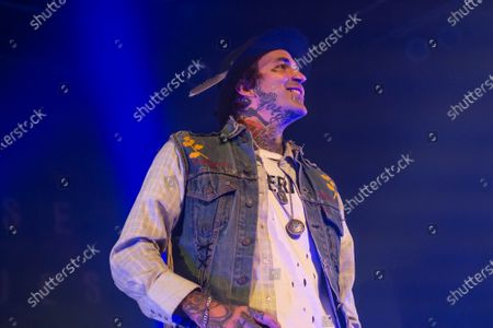 Editorial photo of Yelawolf in concert, House of Blues, Chicago, USA - 19 Nov 2019