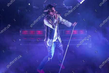 Editorial picture of Yelawolf in concert, House of Blues, Chicago, USA - 19 Nov 2019