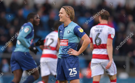 Stock Photo of Alex Samuel of Wycombe Wanderers