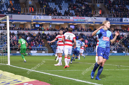 Editorial image of Wycombe Wanderers v Doncaster Rovers, Sky Bet League One, Football, Adams Park, UK - 23 Nov 2019