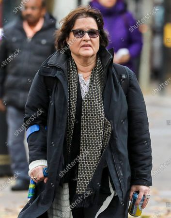 Activist Amy Dalla Mura arrives at Westminster Magistrates' Court: accused of harassing MP Anna Soubry party leader of Change UK - The Independent Group.