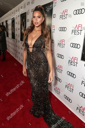 Kara Del Toro attends Amazon Studios Aeronauts Los Angeles AFI Premiere during AFI FEST 2019 at TCL Chinese Theatre on in Hollywood, California