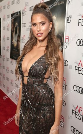 Stock Picture of Kara Del Toro attends Amazon Studios Aeronauts Los Angeles AFI Premiere during AFI FEST 2019 at TCL Chinese Theatre on in Hollywood, California