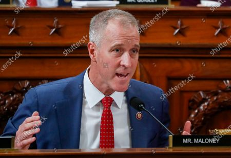 U.S. Rep. Sean Patrick Maloney speaks at a House Intelligence Committee hearing featuring witness US Ambassador to the European Union Gordon Sondland, as part of the impeachment inquiry into US President Donald Trump on Capitol Hill in Washington, DC, USA, 20 November 2019.