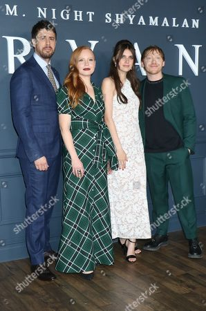 Toby Kebbell, Lauren Ambrose, Nell Tiger Free and Rupert Grint