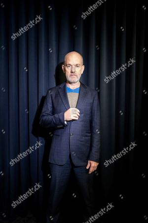 Editorial photo of Michael Stipe and Mike Mills Portrait Session, New York, USA - 28 Oct 2019