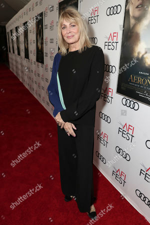 Joanna Cassidy attends Amazon Studios Aeronauts Los Angeles AFI Premiere during AFI FEST 2019 at TCL Chinese Theatre on in Hollywood, California