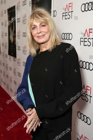 Stock Image of Joanna Cassidy attends Amazon Studios Aeronauts Los Angeles AFI Premiere during AFI FEST 2019 at TCL Chinese Theatre on in Hollywood, California