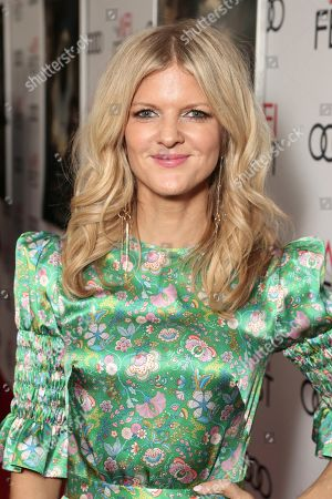 Stock Picture of Arden Myrin attends Amazon Studios Aeronauts Los Angeles AFI Premiere during AFI FEST 2019 at TCL Chinese Theatre on in Hollywood, California