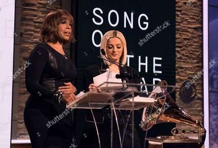 Gayle King and Bebe Rexha