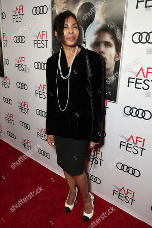 Stock Photo of Khandi Alexander attends Amazon Studios Aeronauts Los Angeles AFI Premiere during AFI FEST 2019 at TCL Chinese Theatre on in Hollywood, California